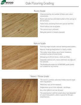 Oak Flooring Grading.cdr