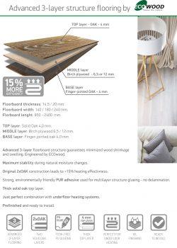 Advanced 3-layer Flooring